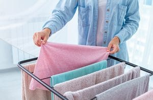 clothes drying condensation